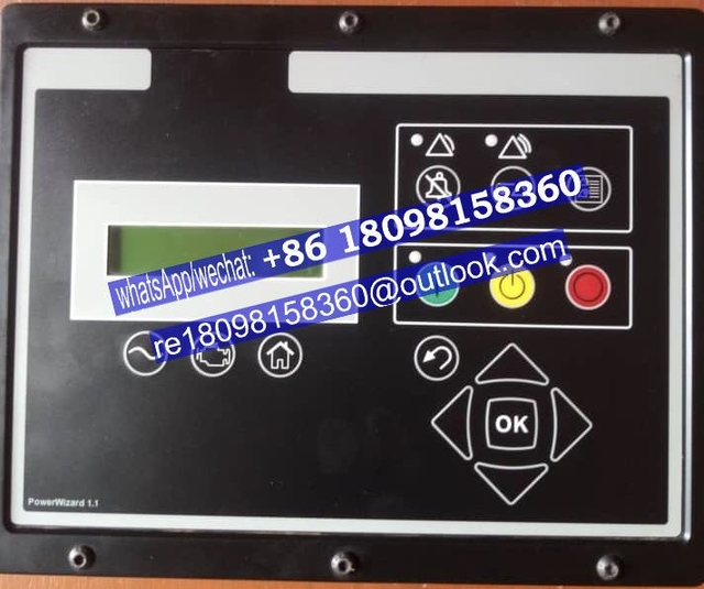 PowerWizard 1.1 / 1.1+ Digital Control Panels PW1.1 PW 1.1+ Providing safe control of your generator set/genuine FG Wilson generator parts