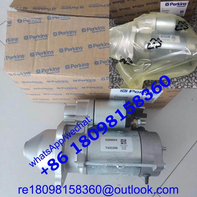 2873K406 T400268 T410874 2873K632 2873K631 STARTER MOTOR genuine Perkins power parts