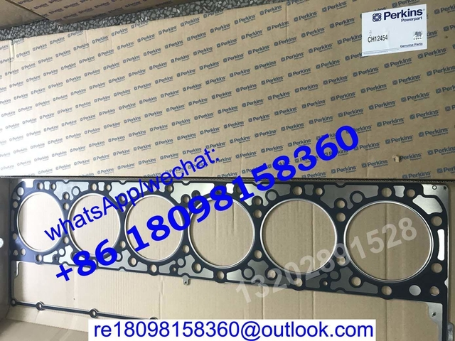 CH12454 HEAD GASKET for Perkins engine 2206A-E13TAG/2206C-E13TAG/2206D-E13TAG,CAT Caterpillar C13
