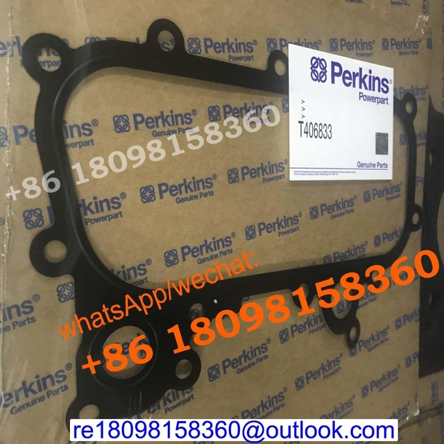 T406833 Oil Cooler Gasket for Perkins/CAT Caterpillar C4.4 C6.6 Electrical diesel engine parts