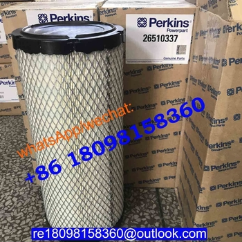 26510337 901-047 for Perkins Fule Filter genuine engine 1103A-33TG1 /FG Wilson generator parts  GEP44 GEP65 P30E1 P55-3 P65-5